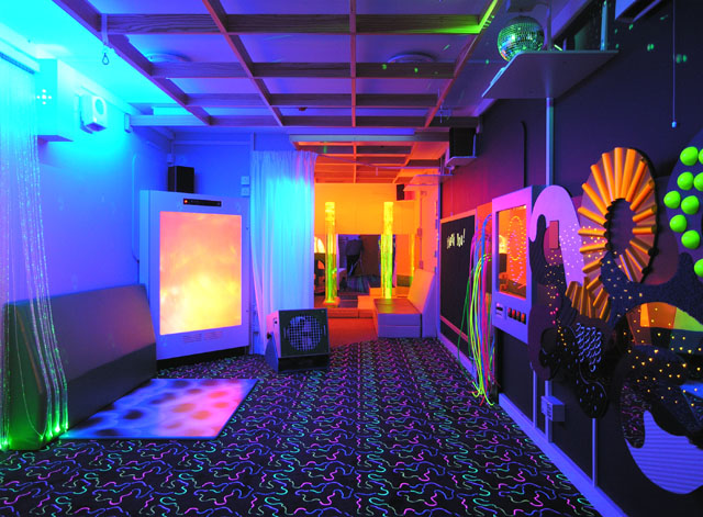 how to build a sensory room