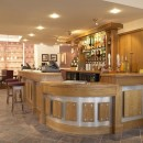 Oak Veneered Bar